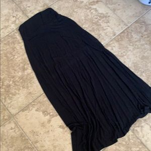 Black maxi skirt XS